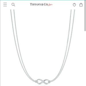 Tiffany & Co. infinity pendant